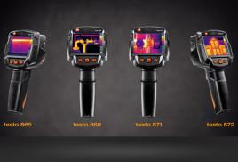 Новые тепловизоры от компании testo